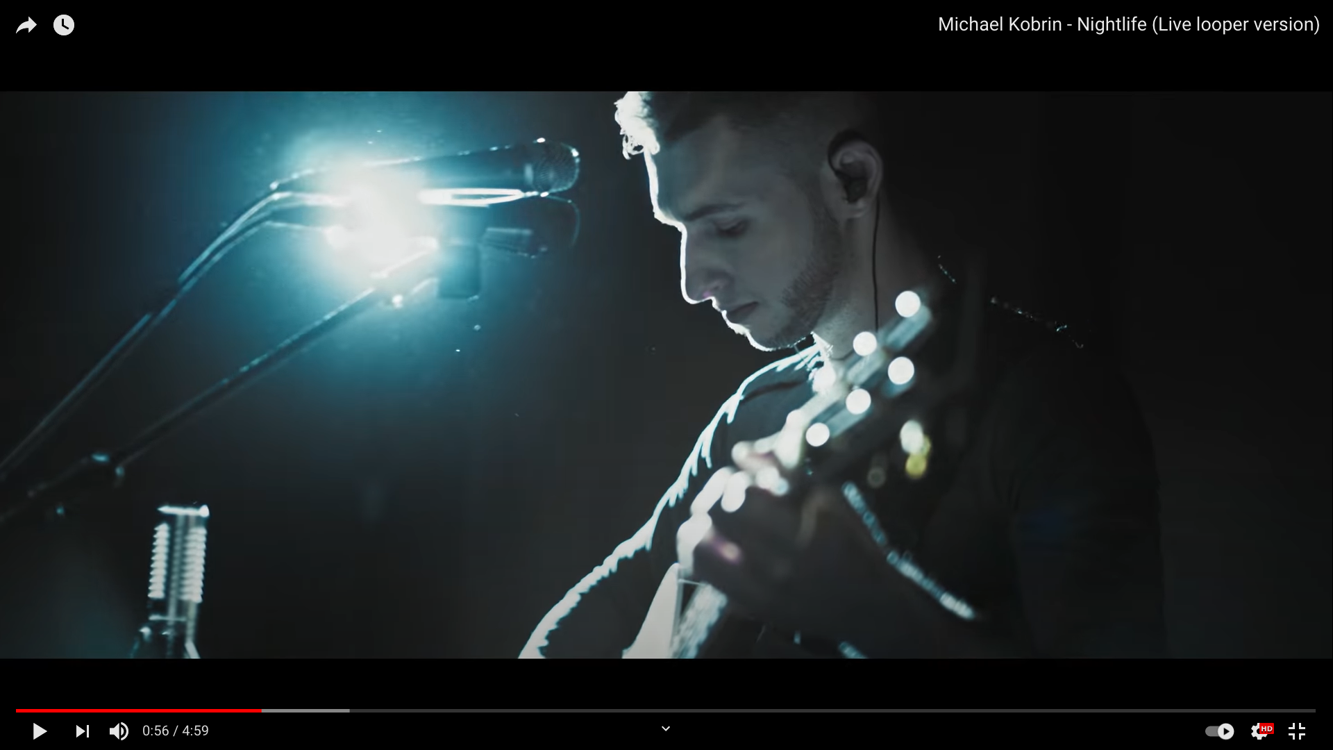 Michael Kobrin - Nightlife (Live looper version)